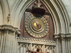 Wells Cathedral Medieval Clock