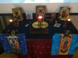Workshop Opening Altar