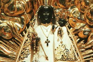 Black Madonna at Einsiedeln, Switzerland