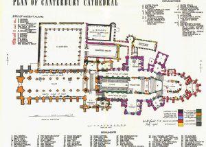canterbury cathedral floor plan