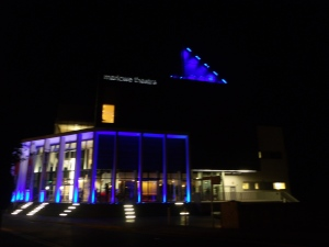 Marlowe Theatre at night