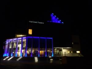 Marlowe Theatre at night