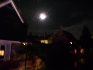 Moon Over Canterbury
